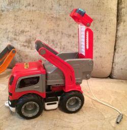 Машинка пожарная