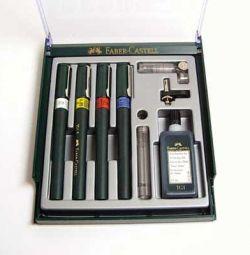 Rapidografe FABER-CASTELL TG1-S cu accesorii