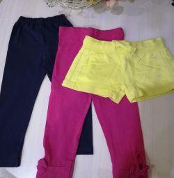 Legisas set + shorts (no pink)