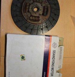 Ssang Yong Kyron'daki Debriyaj Diski