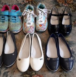 Shoes for the girl.