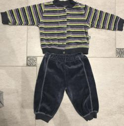 Velor suits for height 68-74