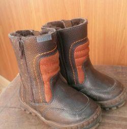Зимние ботиночки фирма Котофей