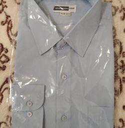 Ανδρικό πουκάμισο με μακριά μανίκια