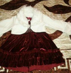 Сукня для модниці. 86 см.