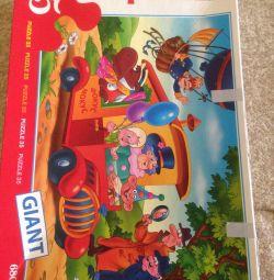 Children's floor puzzles