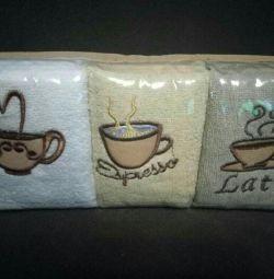 Set of kitchen towels