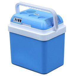Araç buzdolabı DELTA, mavi, No. D-H24P