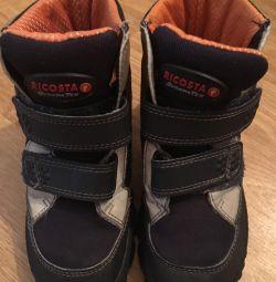 Чоботи-черевики тeплие в ідеальному стані