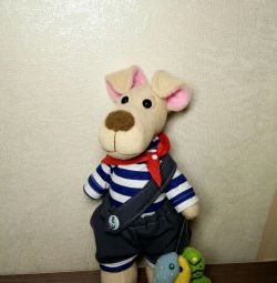 Toys in the style of Tilda, handmade.