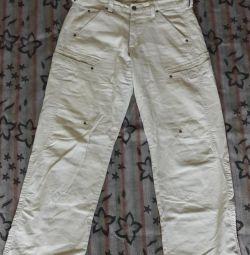 Pantaloni bărbați cu picioare late 50