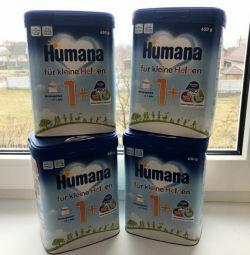 Детское питание Humana 1+