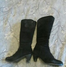 Shoes package genuine leather