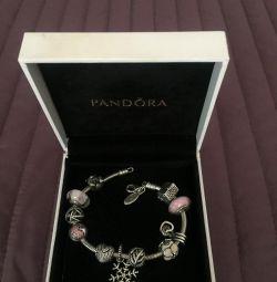 Pandora bracelet original, 11 charms