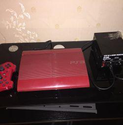 PlayStation 3 ss 500Gb red американська