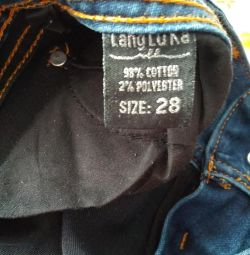 Jeans 28 size low rise