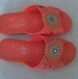 Beach flip flops 34-35 μέγεθος
