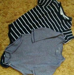 Body Gloria jeans 68 și HM 80