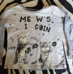 Μπλούζα για ένα κορίτσι 2-3 ετών