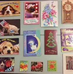 Postcards. Exchange.