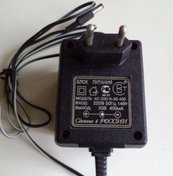 Power supply ac-220-n-30-400 30V 400mA