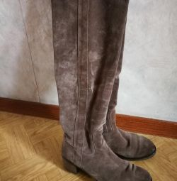 Suede boots fall