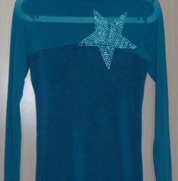 Pullover turquoise, Turkey, r-44 (46)