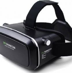 Vr Shinecon glasses with gamepad