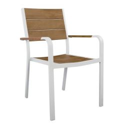 CHRISTMAS ARMCHAIR WHITE HM5127.01
