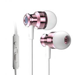 Наушники-вкладыши проводные с микрофоном