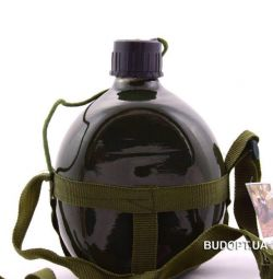 Tourist aluminum flask