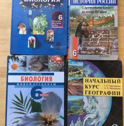 Textbooks Grade 6