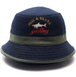Panama Hat Paul & Shark (Blue)