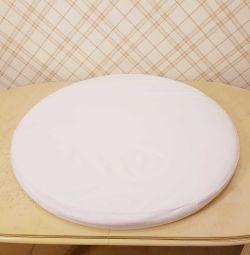 Husa ComfortBaby pentru saltea rotunda de 71 cm