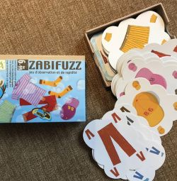 Board game Zabifuzz from 6 years