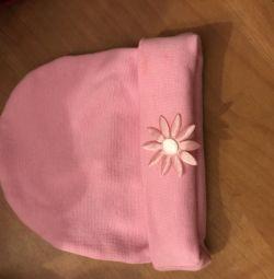 Yaz şapkası pembe Yeni