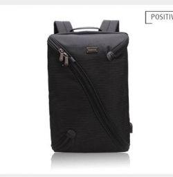 Σακίδιο με προστασία φορητού υπολογιστή / δισκίου μαύρο