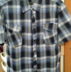 мужские болшие размеры летные рубашки