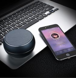 Portable Bluetooth speaker JOYROOM M08 black