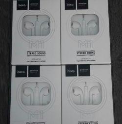 Căști EarPods Hoco Premium M1. În stoc!
