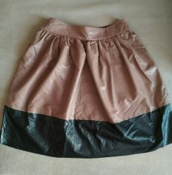 Skirt of eco leather Imperial