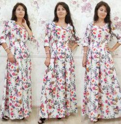 Платье в пол размер 50-52