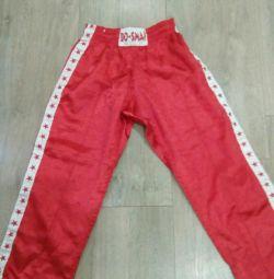 Dövüş sanatları için pantolon