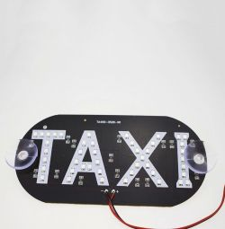 LED signs TAXI