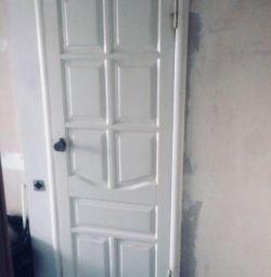 Kapı interroom Ahşap - tuval