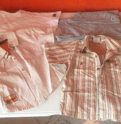 Cămăși, tricouri, mărime 92-98