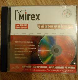 Очисний диск MIREX для лінз BLU-RAY і DVD