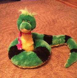 Soft toy snake