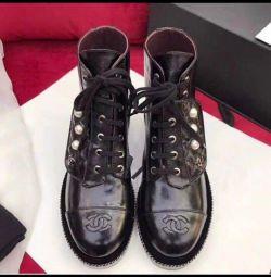 Chanel μπότες