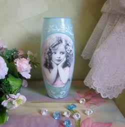Amazing handmade vase